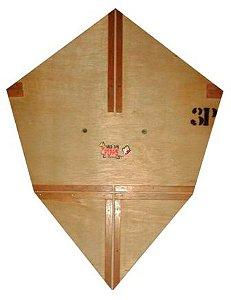 Forma / Gabarito Profissional Para Fazer Pipa Pizza 60 Cm