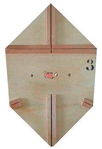 Forma / Gabarito Profissional Para Fazer Pipa Curva 50 Cm