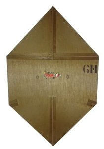 Forma / Gabarito Profissional Para Fazer Pipa Curva 60 Cm
