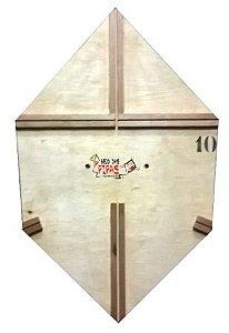 Forma / Gabarito Profissional Para Fazer Pipa Curva 70 Cm