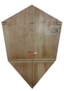 Forma / Gabarito Profissional Para Fazer Pipa Charuto 60 Cm