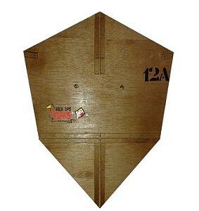 Forma / Gabarito Profissional Para Fazer Pipa Charuto 55 Cm