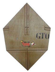 Forma / Gabarito Profissional Para Fazer Pipa Gt 45 Cm