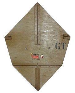 Forma / Gabarito Profissional Para Fazer Pipa GT 50 Cm