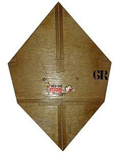 Forma / Gabarito Profissional Para Fazer Pipa GT 60 Cm