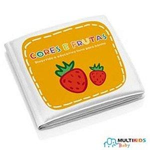 Livrinho de banho Cores e Frutas Multikids Baby