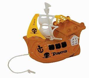 Brinquedo Banho Divertido Navio Pirata Kitstar