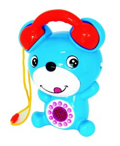 Brinquedo Bebê Musical Ursinho Kitstar
