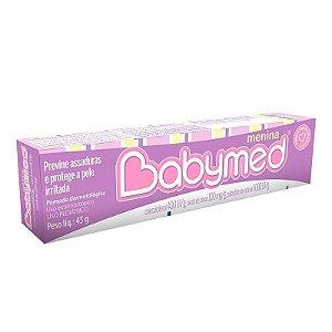 Pomada para assaduras Babymed Menina
