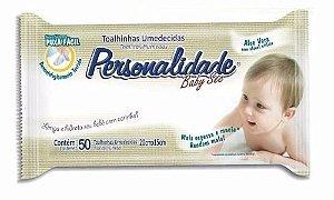 Lenços Umedecidos Personalidade Baby 100 unidades