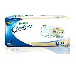 Fralda Geriátrica Biofral Confort M com 26 fraldas
