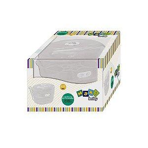Esterilizador de Microondas com Suporte e Pinça Higienica Maxi Baby