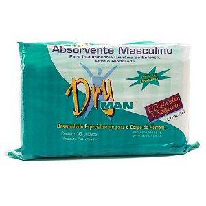 Absorvente Masculino Dry Man com 10 unidades
