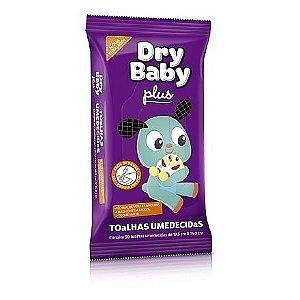 Toalhinhas Umedecidas Dry Baby Pacote com 50
