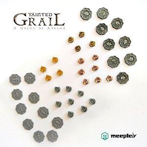 TAINTED GRAIL: DISCOS E MARCADORES DE METAL