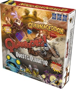 QUARRIORS! QUARMAGEDDON + QUEST OF THE QLADIATOR
