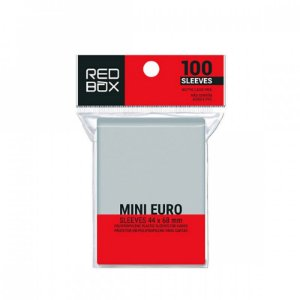 SLEEVES REDBOX  MINI EURO (44x68) - 100 UNIDADES