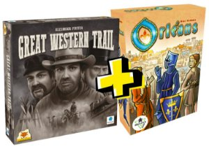 COMBO: GREAT WESTERN TRAIL + ORLEANS
