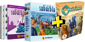 COMBO: COMBO SUBURBIA + ORLEANS