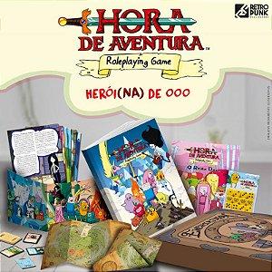HORA DE AVENTURA RPG - PACOTE HEROI(NA) DE OOO