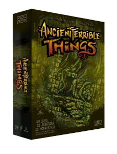 COMBO: ANCIENT TERRIBLE THINGS + EXTRAS + EXPANSÃO + PLAYMAT + INSERT (PRÉ-VENDA)