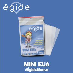 SLEEVES EGIDE MINI EUA 41X63 - 100 UNIDADES