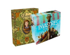 COMBO: INVASORES DO MAR DO NORTE + LORENZO IL MAGNIFICO