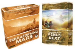 COMBO: TERRAFORMING MARS + VÊNUS NEXT