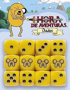 HORA DE AVENTURA RPG - DADOS JAKE