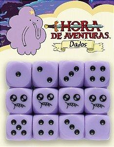 HORA DE AVENTURA RPG - DADOS PRINCESA CAROÇO