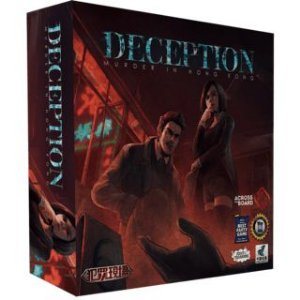 DECEPTION: MURDER IN HONG KONG + SLEEVES