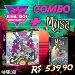 COMBO: ILHA DOS DINOSSAUROS + MUSA