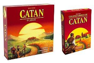 COMBO: CATAN + EXPANSÃO 5/6 JOGADORES