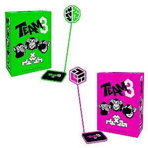 COMBO: TEAM3 - GREEN + PINK