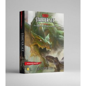 DUNGEONS & DRAGONS 5E: STARTER SET - KIT INTRODUTÓRIO