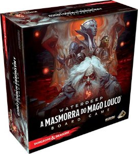 Waterdeep: A Masmorra do Mago Louco – Board Game