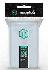 SLEEVES MEEPLE BR USA (56x87) - 100 UNIDADES