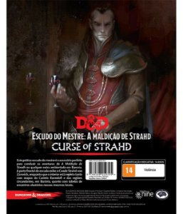 DUNGEONS & DRAGONS 5E: MALDIÇÃO DE STRAHD SCREEN - ESCUDO DO MESTRE