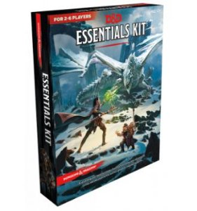 DUNGEONS & DRAGONS: ESSENTIALS KIT (INGLÊS)