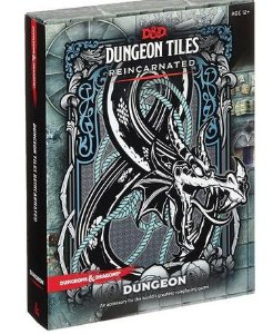 DUNGEONS & DRAGONS: DUNGEON TILES REINCARNATED - THE DUNGEON (INGLÊS)