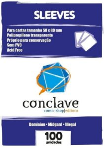 SLEEVES CONCLAVE USA CHIMERA (58X89) - 100 UNIDADES