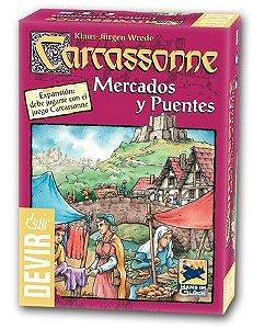 CARCASSONNE MERCADOS E PONTES