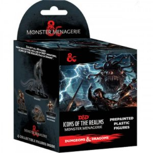 D&D – ICONS OF THE REALMS – MONSTER MENAGERIE 8 (BOOSTER BRICK) - 1 UNIDADE - PREMIUM FIGURES (EM INGLÊS)