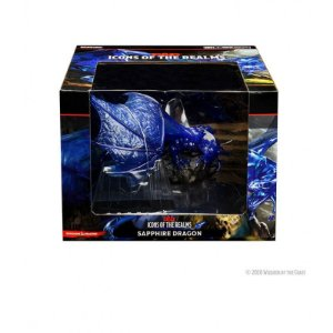 D&D – ICONS OF THE REALMS – SAPPHIRE DRAGON - PREMIUM FIGURES (EM INGLÊS)