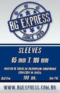 SLEEVES BG EXPRESS 65X100 - 100 UNIDADES