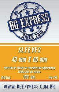 SLEEVES BG EXPRESS 43X65 - 100 UNIDADES