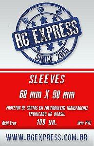 SLEEVES BG EXPRESS 60X90 - 100 UNIDADES