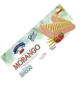 Wafer Diet Morango 100g
