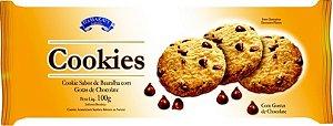 Cookies - Baunilha com Gotas de Chocolate - 100g