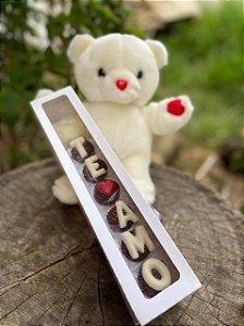 Caixa Rosa para 6 doces Com Visor - 5 unid.